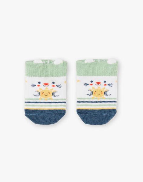 Socquettes rayée bébé garçon TARAMSES / 20E4BGQ1SOB001