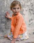 Veste Orange ZIJAKETTE / 21E2PFO1VES406