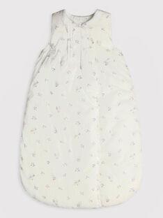 Gigoteuse imprimée fleurs écru bébé fille TYDODO / 20E0AFF1TUR000