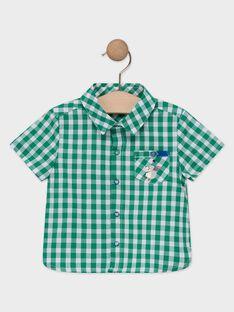 Chemise à carreaux bébé garçon    TALOUIS / 20E1BGH1CHM607