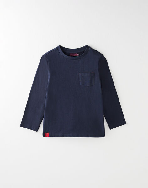 Tee-shirt manche longue bleu VUNIAGE 1 / 20H3PGC1TML070