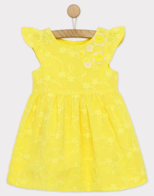Robe jaune RYEDAETTE / 19E2PFS2ROB106