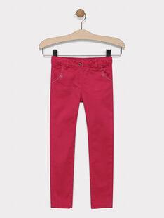 Pantalon en twill coloré SAPOLETTE 3 / 19H2PF92PAN308