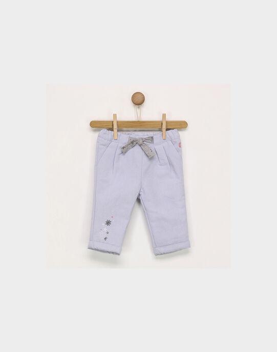 Pantalon mauve PASOLANGE / 18H1BFQ1PAN326