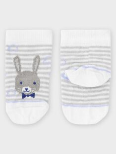 Chaussettes rayées bébé garçon TAJESSE / 20E4BGJ1SOQ001
