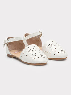 Chaussures blanches petite fille TYLAETTE / 20E4PFJ1CHT000