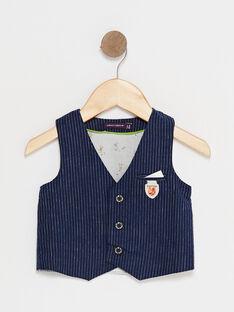 veste sans manches Bleu marine TYBABY / 20E1BG11VSM705
