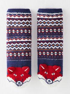 Chaussettes tricot anti-dérapantes  VISOCAGE / 20H4PGU1SOA702