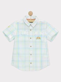 Chemise blanche à carreaux RUZOUAGE / 19E3PGQ1CHM000