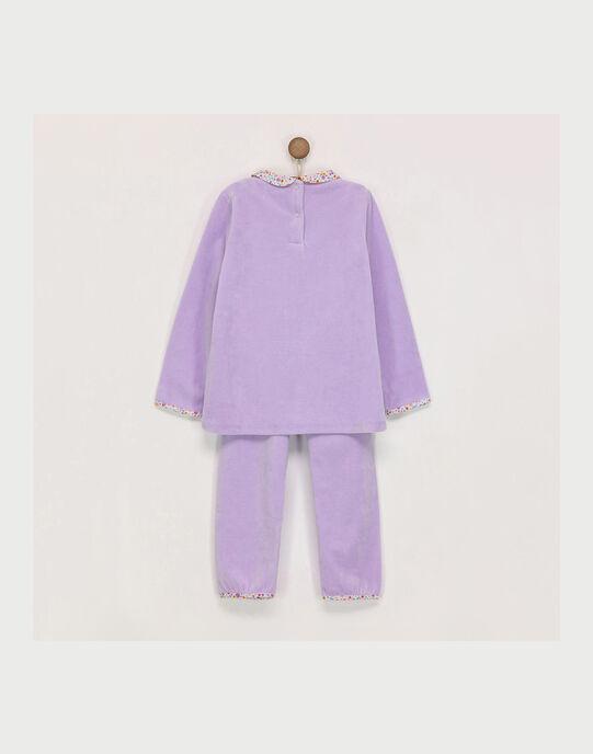 Pyjama mauve REJUSETTE / 19E5PF75PYJ328