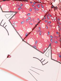 Parapluie imprimé fleuri petit enfant fille  VIDAETTE / 20H4PF61PUI709