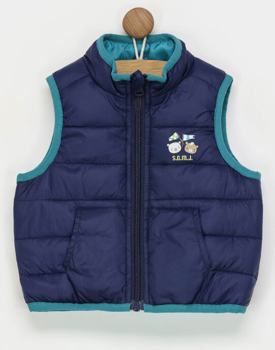 Gilet sans manches turquoise RAGERARD / 19E1BGD1GSM202