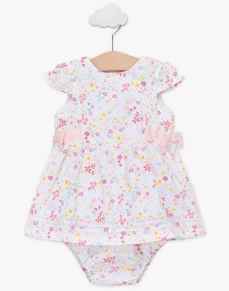 Robe et bloomer à imprimé fleuri bébé fille TALAURIE / 20E1BFJ2ROB000