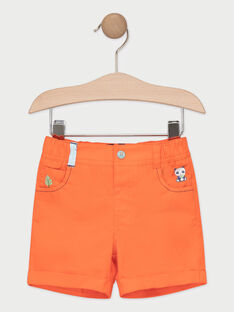 Short bébé garçon corail  TAPAKO / 20E1BGP1BER415