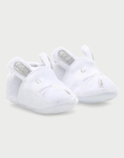 Chaussons blanc RYAZEDINE / 19E0AM11CHP001