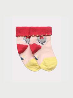Chaussettes rose RADYNA / 19E4BF61SOQ301
