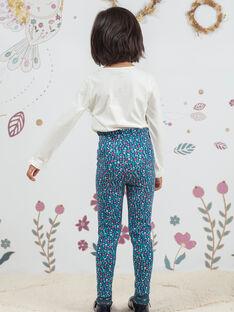 Legging imprimé fleuri enfant fille BOFIETTE / 21H4PF91CAL714
