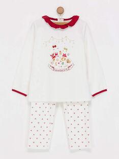 Pyjama blanc PYROUETTE / 18H5PFS1PYJ001