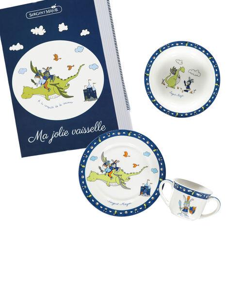 Kit repas bleu et blanc ROPASBOY / 19EZLAX1KTR001