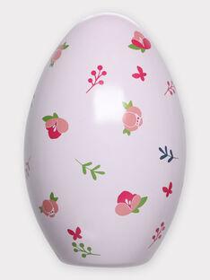 Œuf de Pâques rose pâle et cape à colorier enfant fille TUTUETTE 1 / 20E2PFU1CPO000