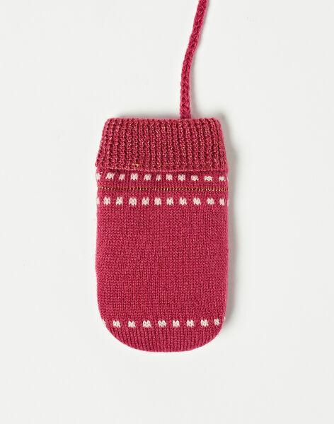 Moufles violettes en tricot  VAMAELLE / 20H4BFJ1GAN310