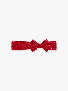Bandeau rouge de Noël  VATILIA / 20H4BFZ2BAN050