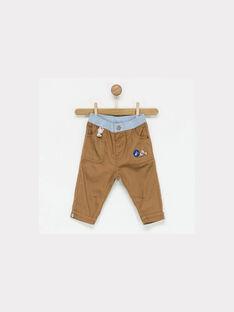 Pantalon marron NAKENAN / 18E1BGI1PAN812