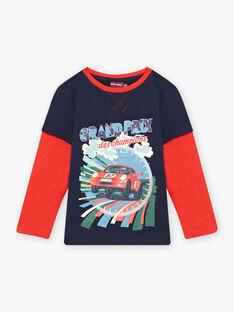 T-shirt effet 2 en 1 à motif voiture enfant garçon BOCIAGE / 21H3PGM1TMLC228