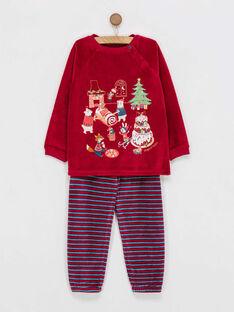Pyjama rouge  PYGOURMAGE / 18H5PGS2PYJF512