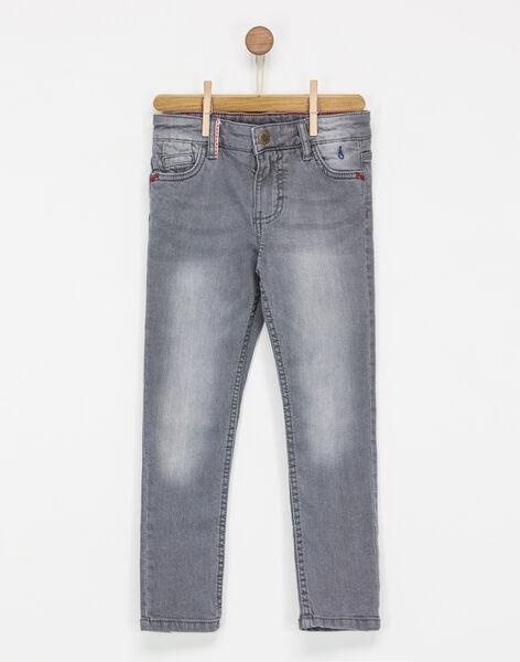 Jeans denim gris NASIAGE / 18E3PG81JEAK004