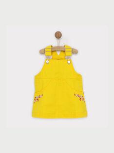 Robe chasuble jaune RAFANNY / 19E1BFC1CHS107