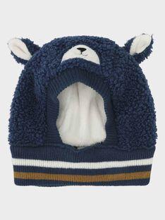 Bonnet bleu bébé garçon SARORIK / 19H4BGI2BONC235