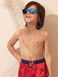 Lunettes de soleil bleu marine motif camouflage enfant garçon ZYGLASSAGE / 21E4PGR1LUSC214