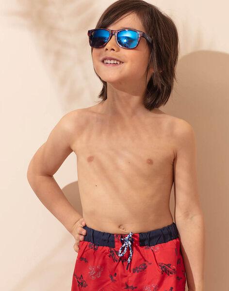 lunettes soleil Bleue ZYGLASSAGE / 21E4PGR1LUSC214