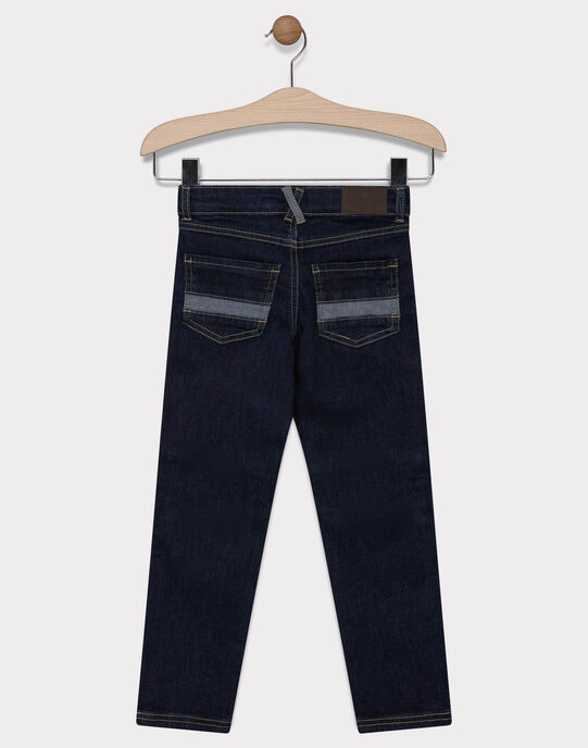 JEANS coloris dark blue denim, coupe slim SAMOJAGE 1 / 19H3PG91JEAK005