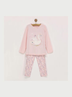 Pyjama rose REJOMETTE / 19E5PF74PYJ030