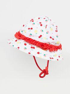 Chapeau anti UV bébé fille  TICANDY / 20E4BFI1CHA001