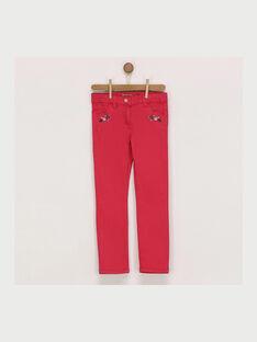 Pantalon rose RADEMETTE / 19E2PF61PAND301