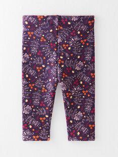Caleçon imprimé violet  VAMALOU / 20H4BFU1CAL711