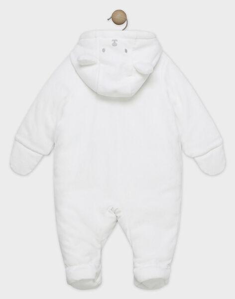 Pilote en fausse fourrure blanche petit ours bébé mixte SYBABET / 19H0CMM1PIL000