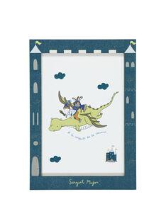 """Affiche """"dragon"""" bleu RODRAGAFF / 19EZLAX2AFF221"""