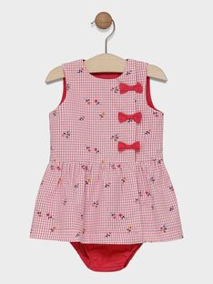 Robe imprimée avec bloomer bébé fille SACOLINE / 19H1BF31CHS001