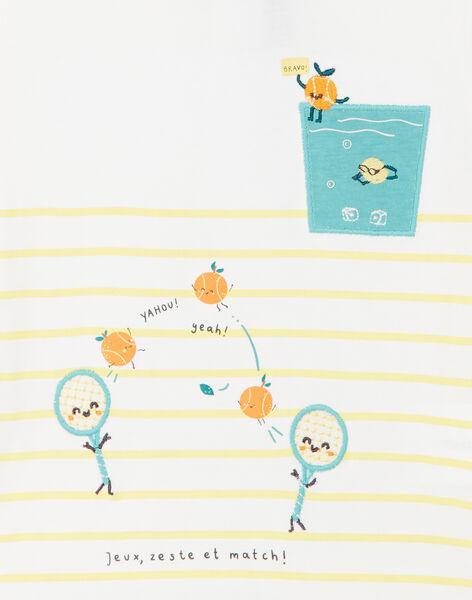 T-shirt rayé et imprimés fantaisie bébé garçon ZAMOMO / 21E1BGO1TMC001