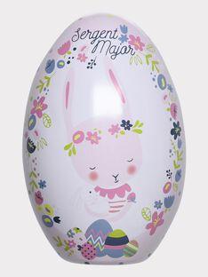 Oeuf de Pâques et doudou bébé fille  THEA / 20E4BFU1JOU001