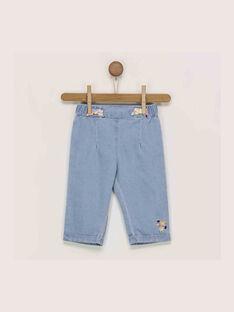 Jeans bleu denim clair RAINEL / 19E1BFD1JEA704