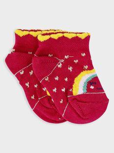 Chaussettes basses bébé fille  TAIVANA / 20E4BFG1SOB302