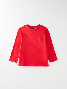 Tee-shirt manche longue rouge VUNIAGE 3 / 20H3PGC2TML050