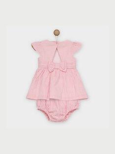 Robe rose RAKLELIA / 19E1BFF1ROB318