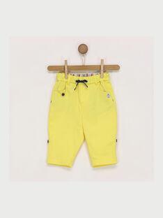 Pantalon jaune RAEDMONT / 19E1BGC1PAN412