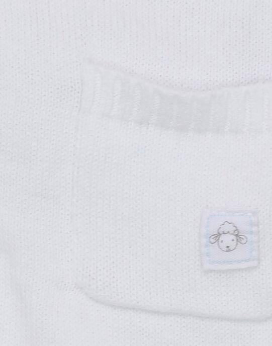 Gilet blanc RYGERALD / 19E0CGI1GIL001